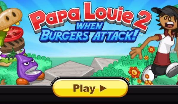 Papa Louie 2 When Burgers Attack