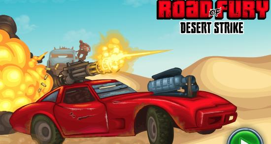 Road of Fury 3: Desert Strike